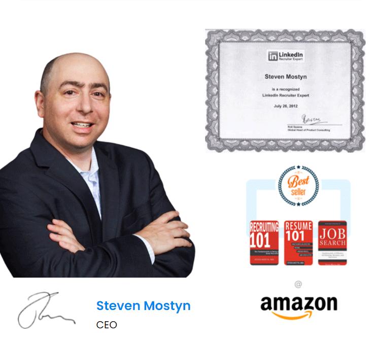 Steven Mostyn Resume Writer